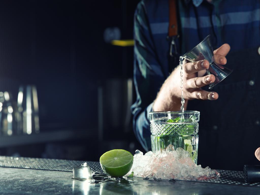 Friskpresset juice til cocktails