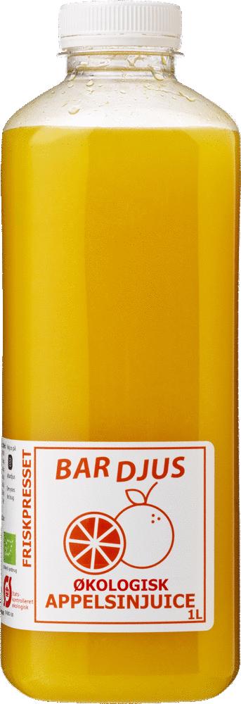Bardjus økologisk appelsinjuice