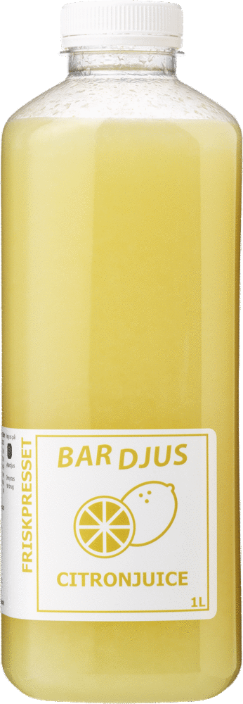 Bardjus friskpresset citronjuice
