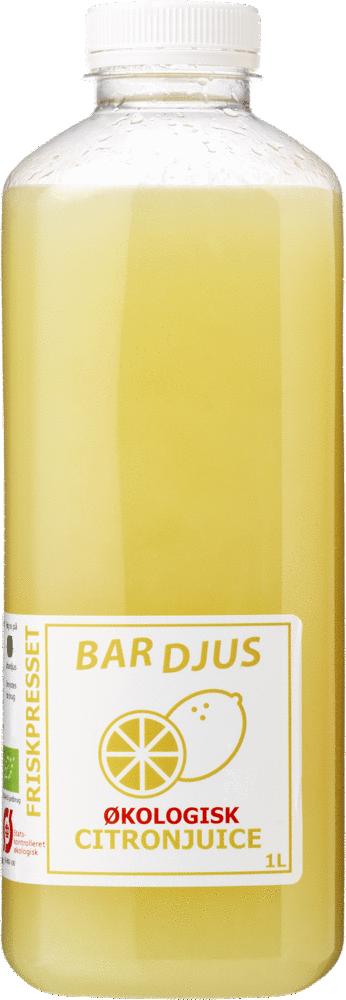 Bardjus organic lemonjuice