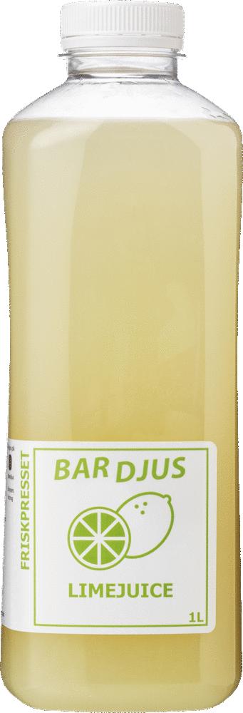 Bardjus friskpresset limejuice