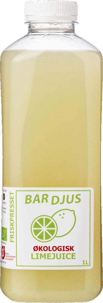 Bardjus økologisk limejuice