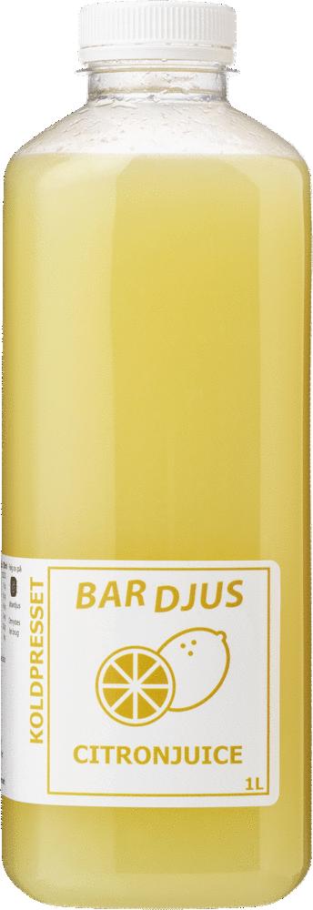 Bardjus frossen citronjuice