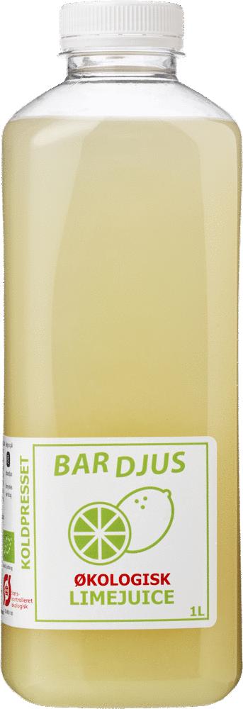 Bardjus frossen økologisk limejuice