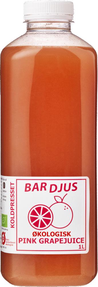 Bardjus frossen økologisk pink grapejuice